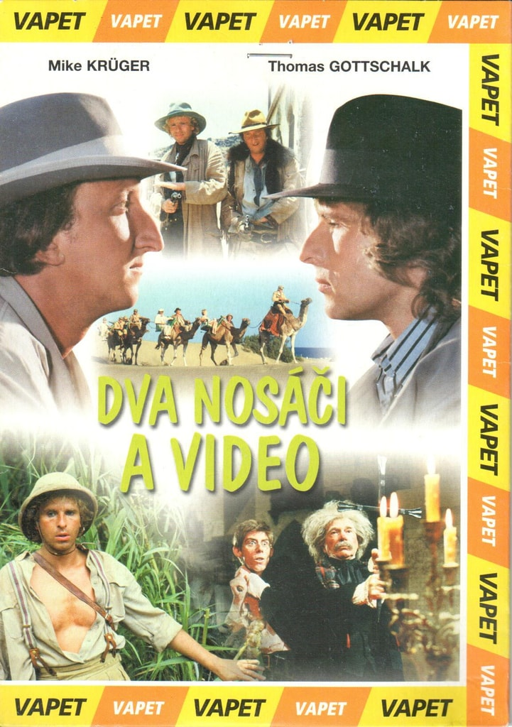 DVD Dva nosáči a video