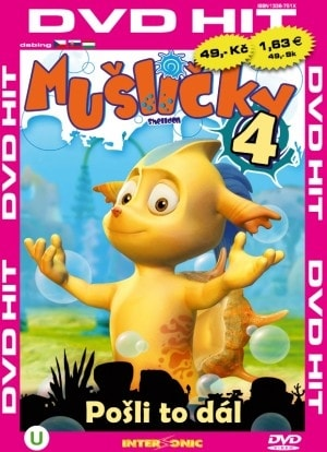 DVD Mušličky 4