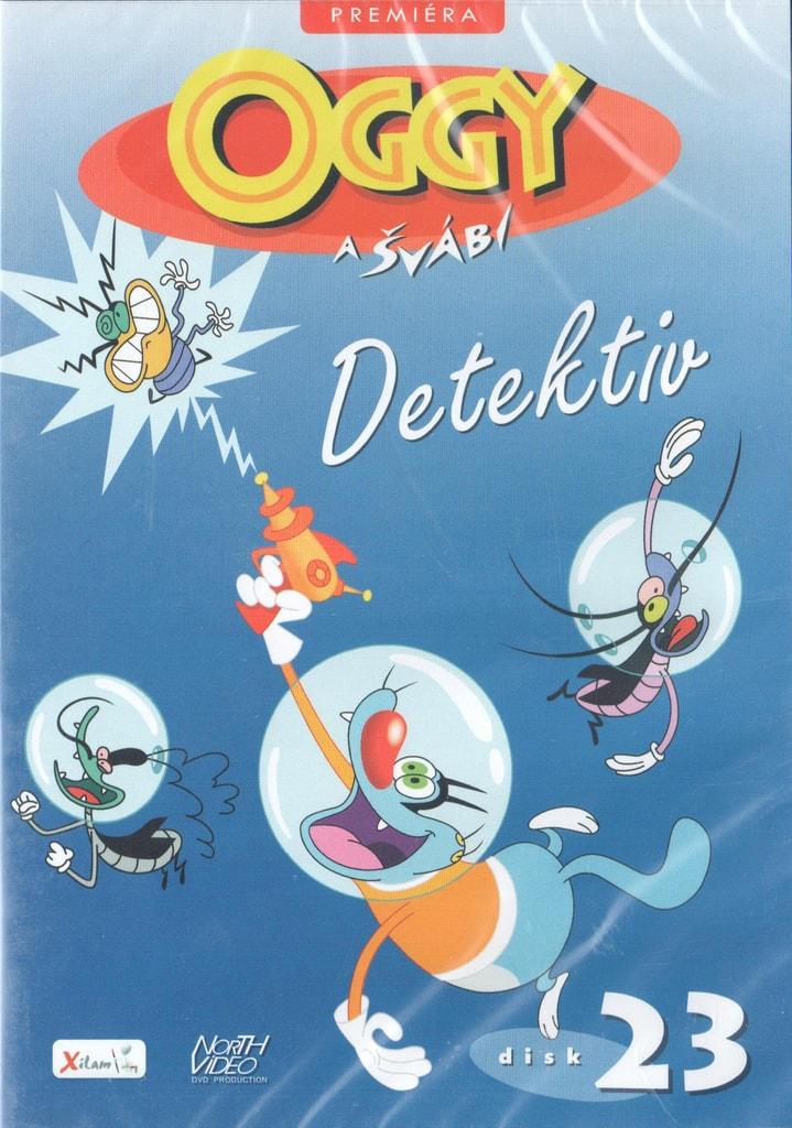 DVD Oggy a švábi 23 - Detektiv