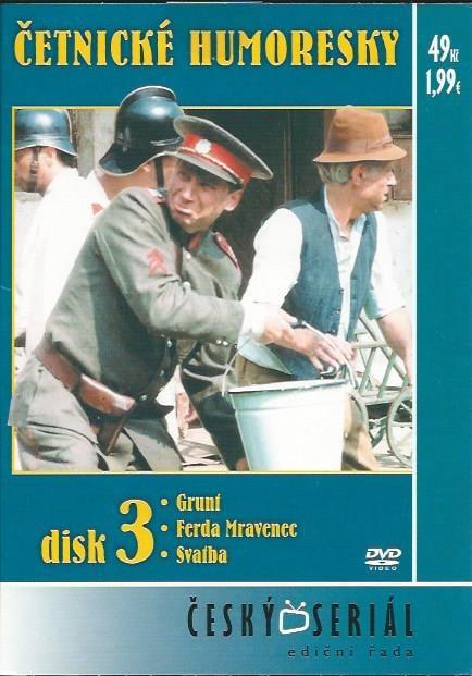 DVD Četnické humoresky 3
