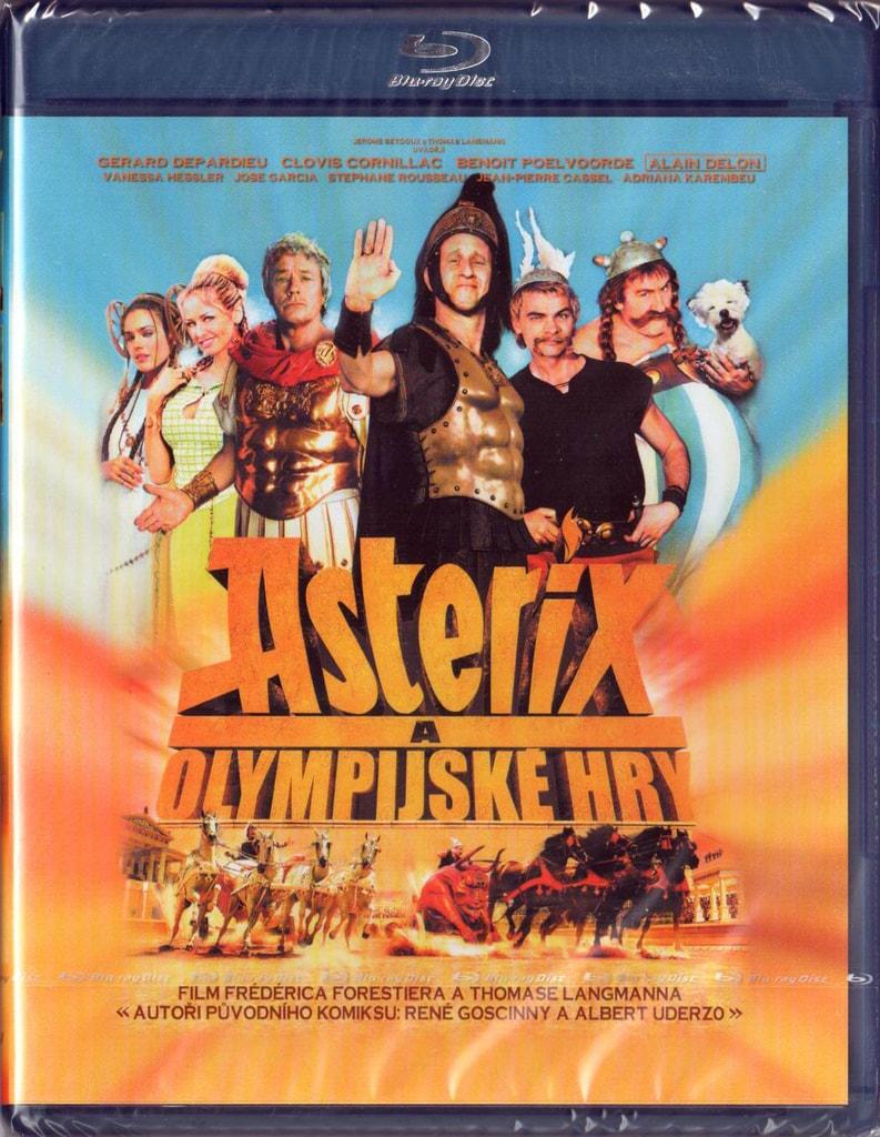 Blu-ray Asterix a Olympijské hry