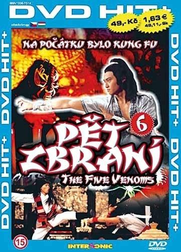 DVD Shaolin 6 Pět zbraní