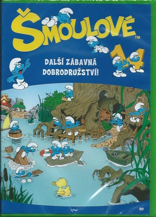 DVD Šmoulové 14