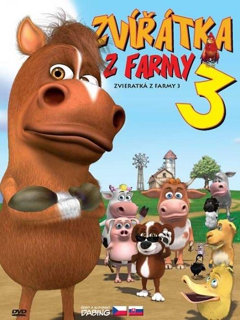 DVD Zvířátka z farmy 3