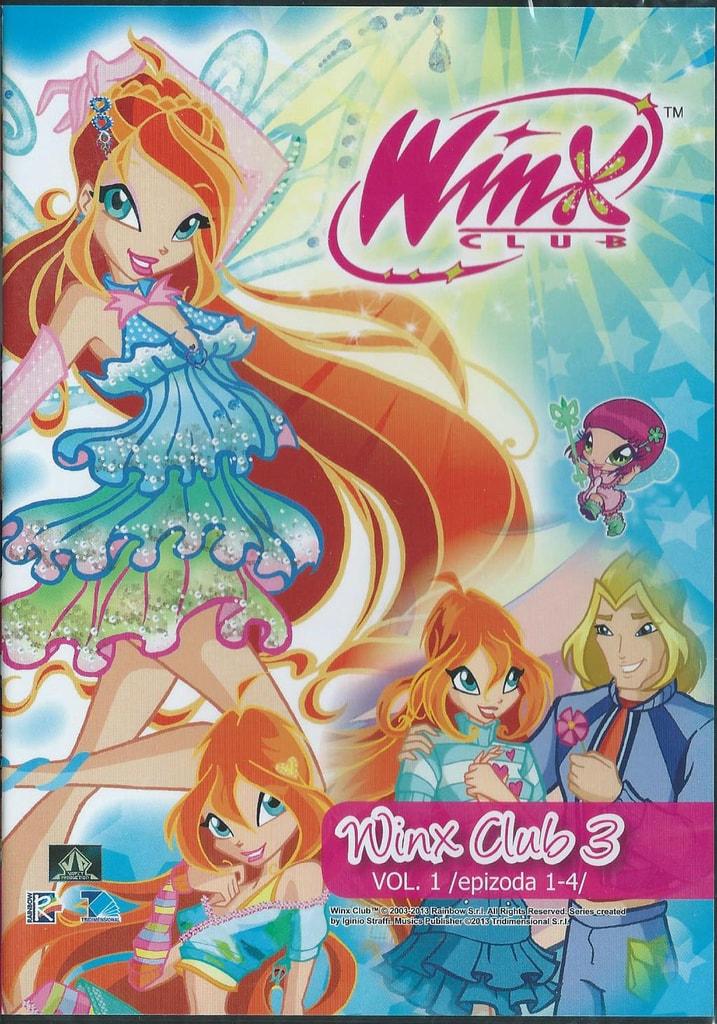 DVD WinX Club 3. série DVD1
