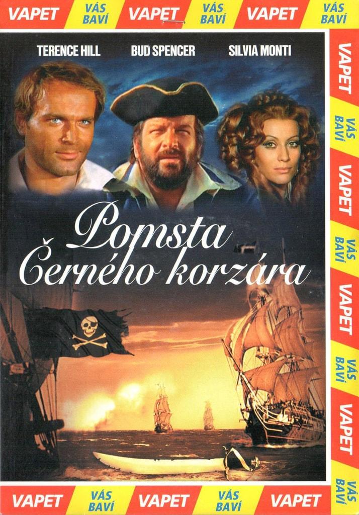 DVD Pomsta Černého korzára