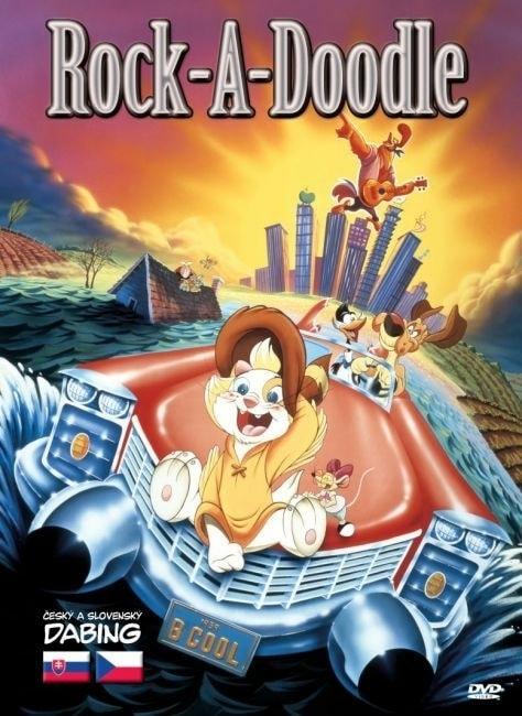 DVD Rock-A-Doodle