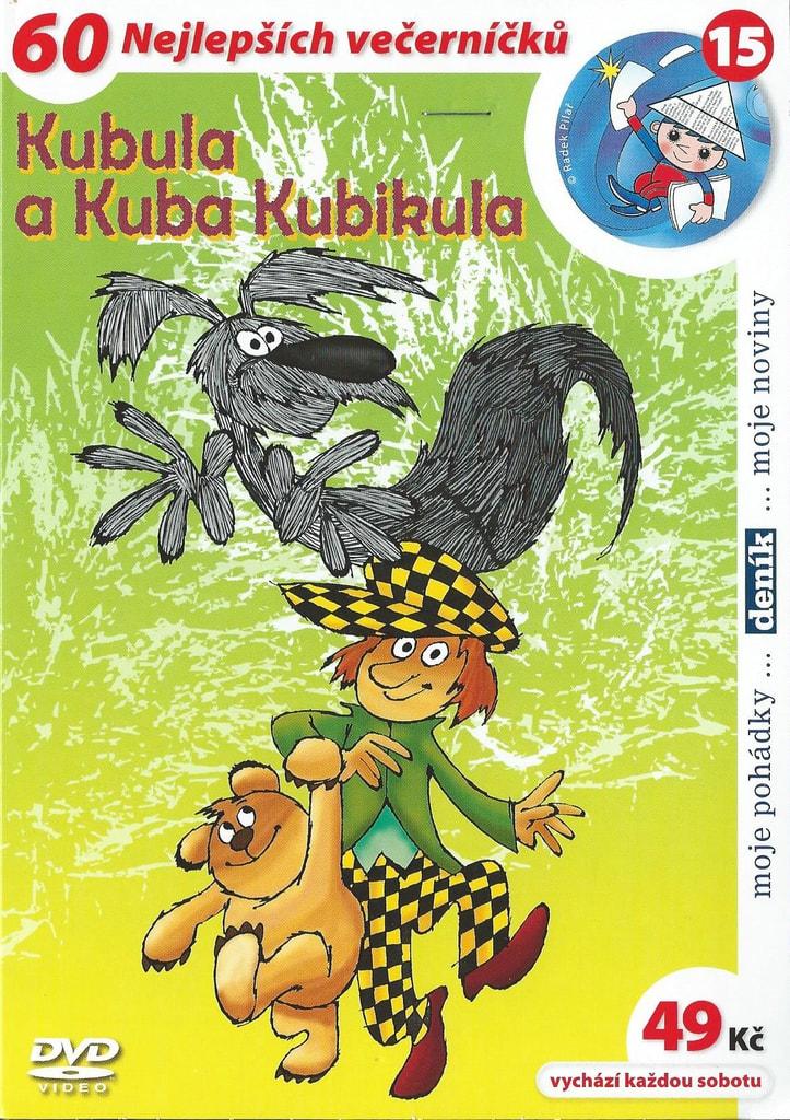 DVD Kubula a Kuba Kubikula