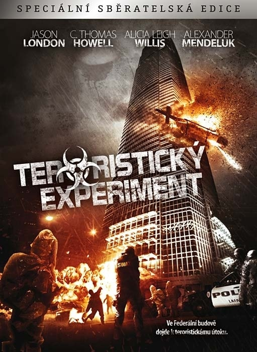 DVD Teroristický experiment (Digipack)