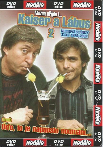 DVD Kaiser a Lábus 2 - aneb Úďo, to je napuosto noumání...