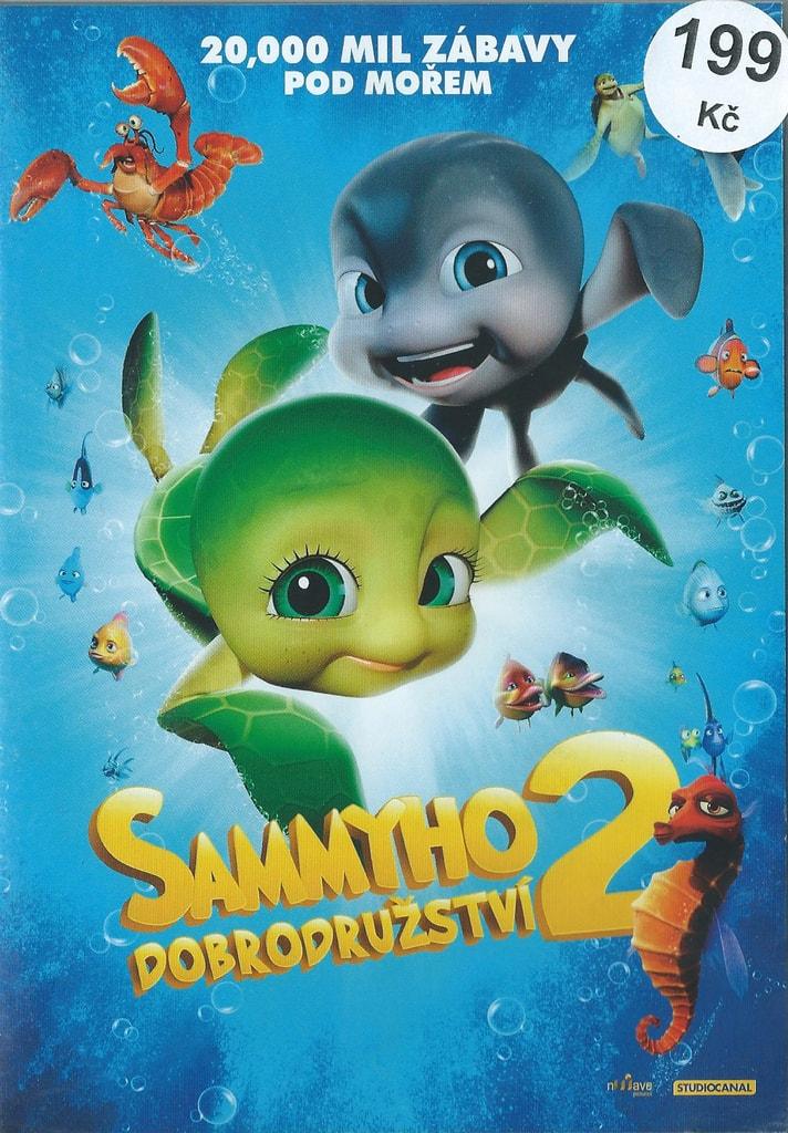 DVD Sammyho dobrodružství 2