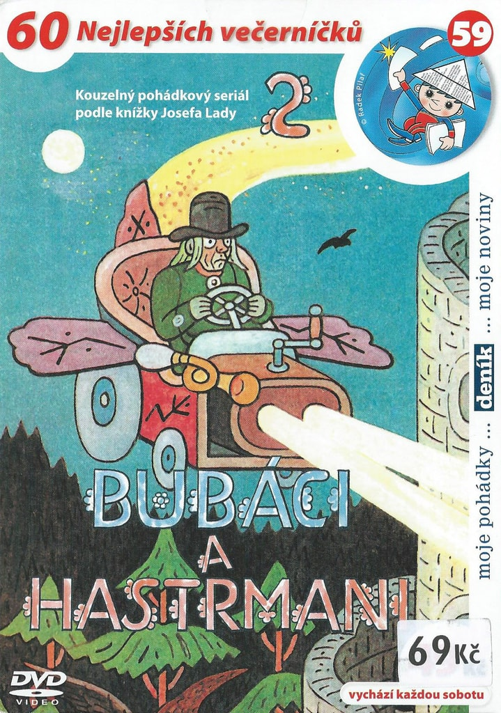 DVD Bubáci a hastrmani 2