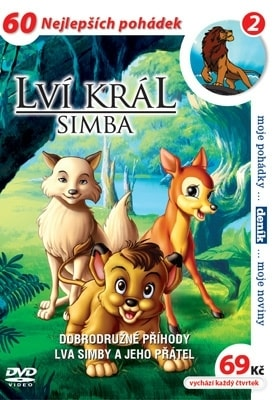 DVD Lví král - Simba 02