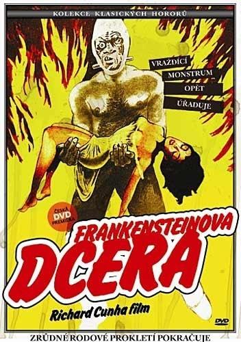 DVD Frankensteinova dcera