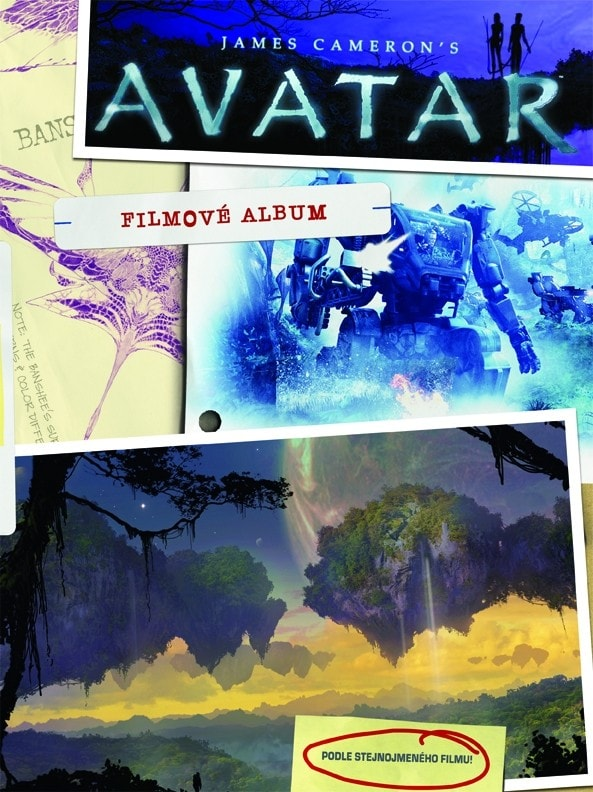 Avatar - Filmové album (poškozené)