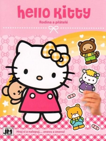 Hello Kitty rodina a přátelé