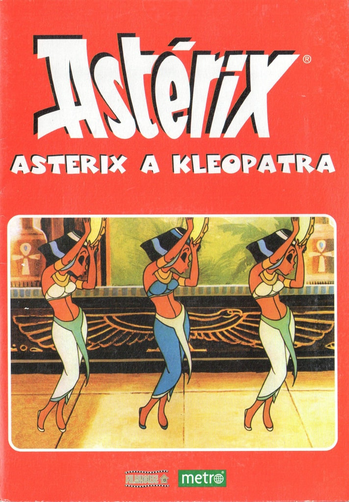 DVD Asterix a Kleopatra