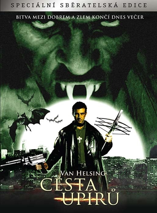 DVD Van Helsing: Cesta upírů (Digipack)