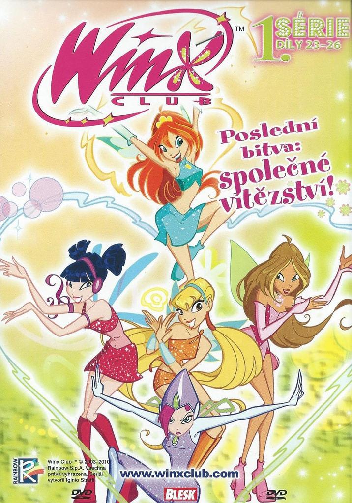 DVD WinX Club 1. série DVD7