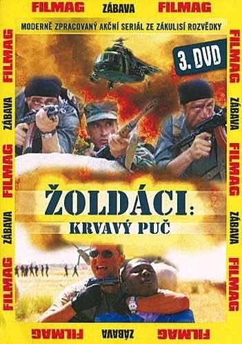 DVD Žoldáci: Krvavý puč 3