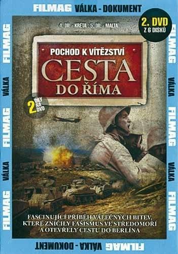 DVD Pochod k vítězství - Cesta do Říma 2