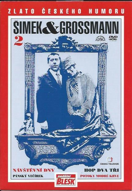 DVD Šimek & Grossmann 2 - Návštěvní dny, Hop dva tři