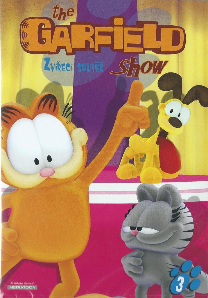 DVD The Garfield show 3 - Zvířecí soutěž