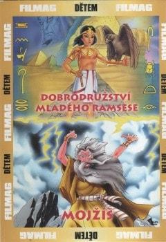 DVD Dobrodružství mladého Ramsese + Mojžíš