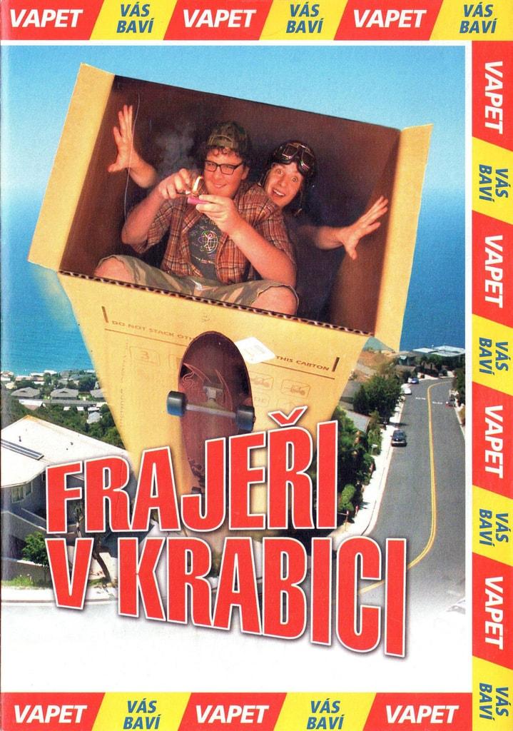 DVD Frajeři v krabici