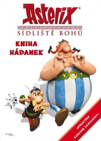 Asterix Sídliště bohů - Kniha hádanek