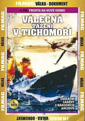 DVD Válečná tažení v Tichomoří 4