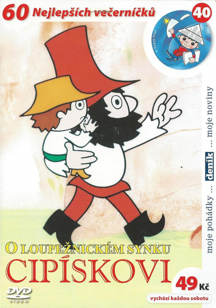 DVD O loupežnickém synku Cipískovi