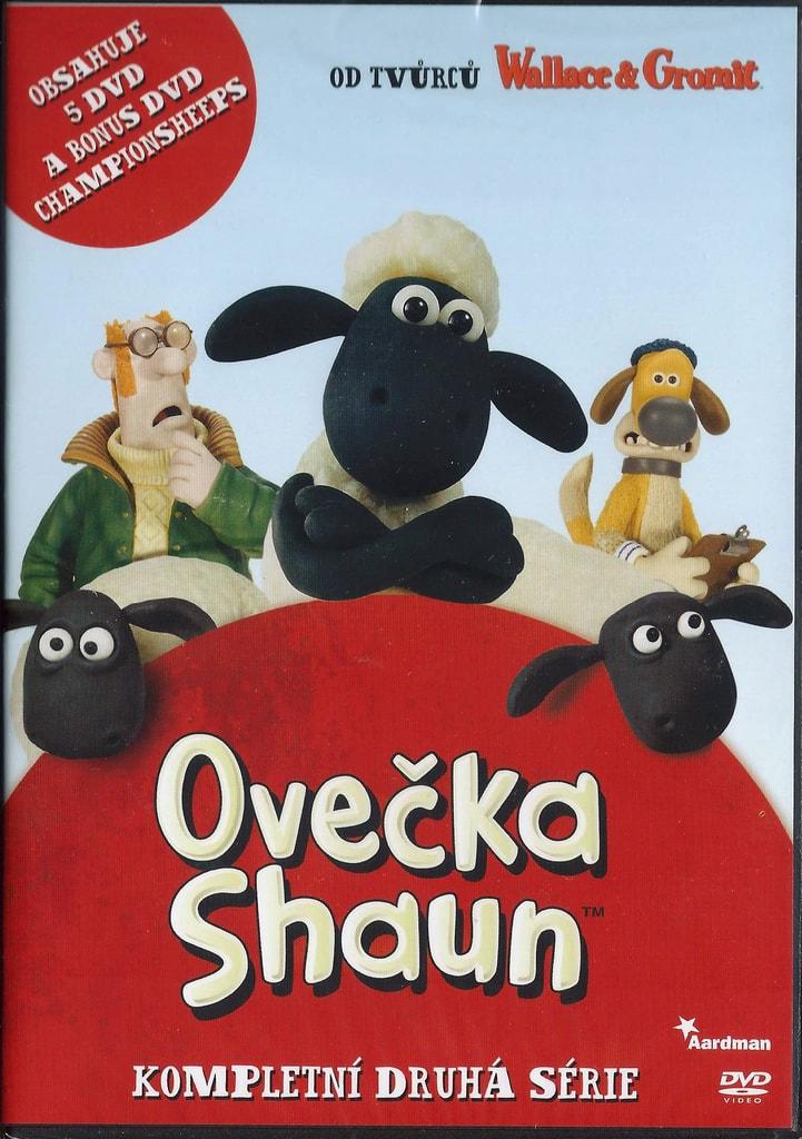DVD Ovečka Shaun - Kompletní druhá série (5DVD)