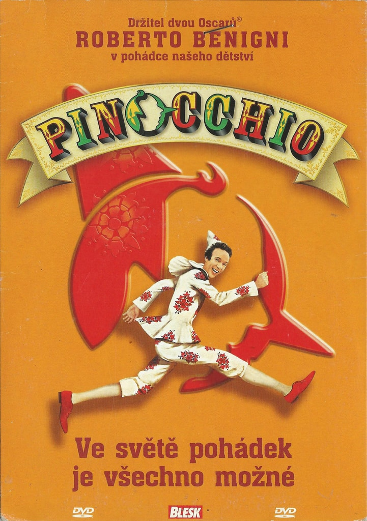 DVD Pinocchio (poškozené)
