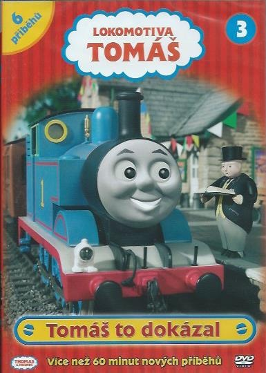 DVD Lokomotiva Tomáš 3 - Tomáš to dokázal