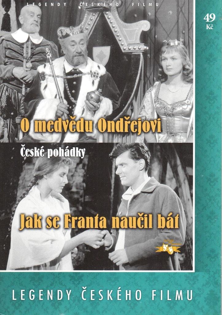 DVD O medvědu Ondřejovi / Jak se Franta naučil bát