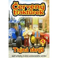 DVD Červený traktůrek 4
