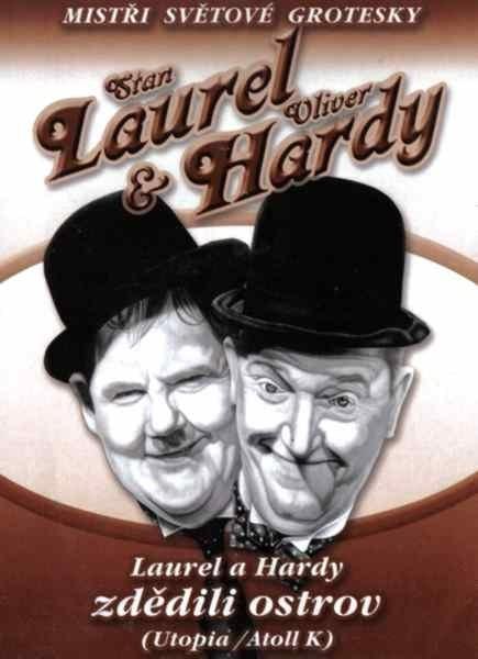 DVD Laurel a Hardy zdědili ostrov