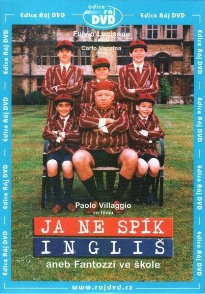 DVD Já ne spík Ingliš