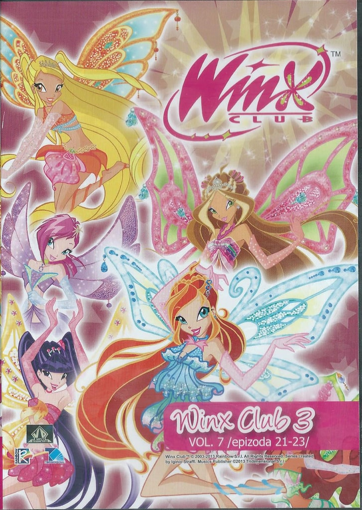 DVD WinX Club 3. série DVD7