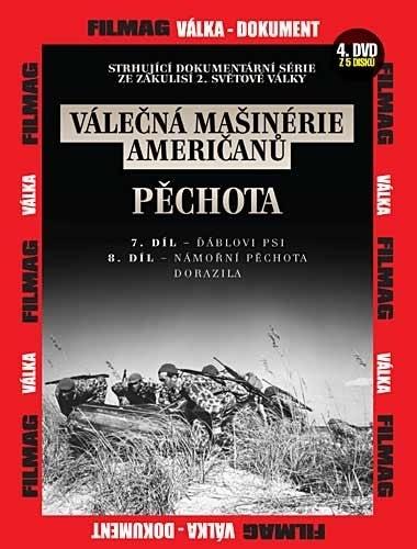 DVD Válečná mašinérie američanů - Pěchota