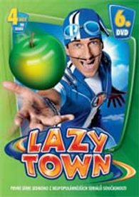 DVD Lazy Town 1. série 6. disk (Slim box)