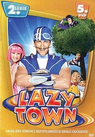 DVD Lazy Town 2. série 5. disk (Slim box)