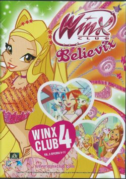 DVD WinX Club Believix 4. série DVD3