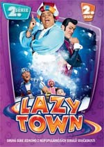 DVD Lazy Town 2. série 2. disk (Slim box)