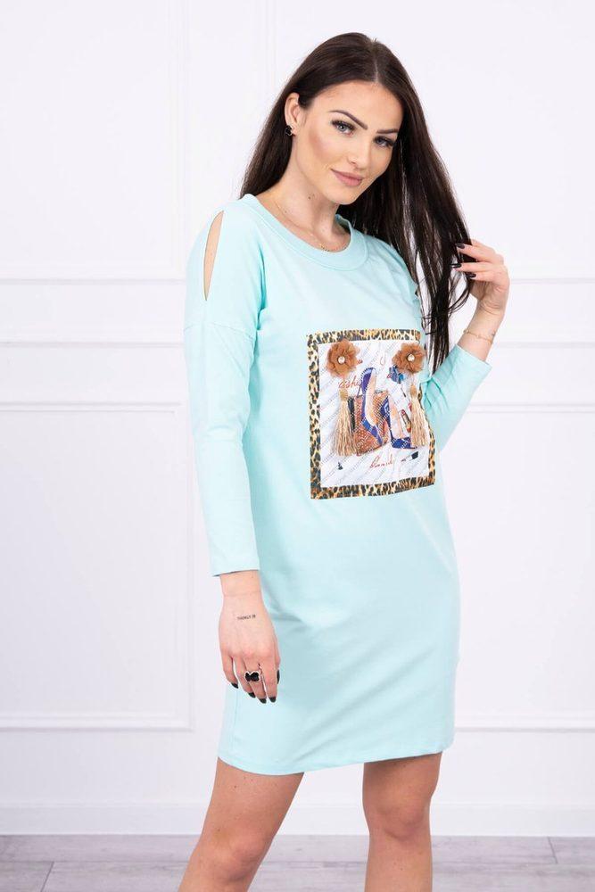 Volnočasové dámské šaty - S/M Kesi ks-sa66828mi