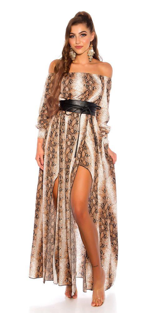 Saténové dámské šaty - S Koucla in-sat2224sn