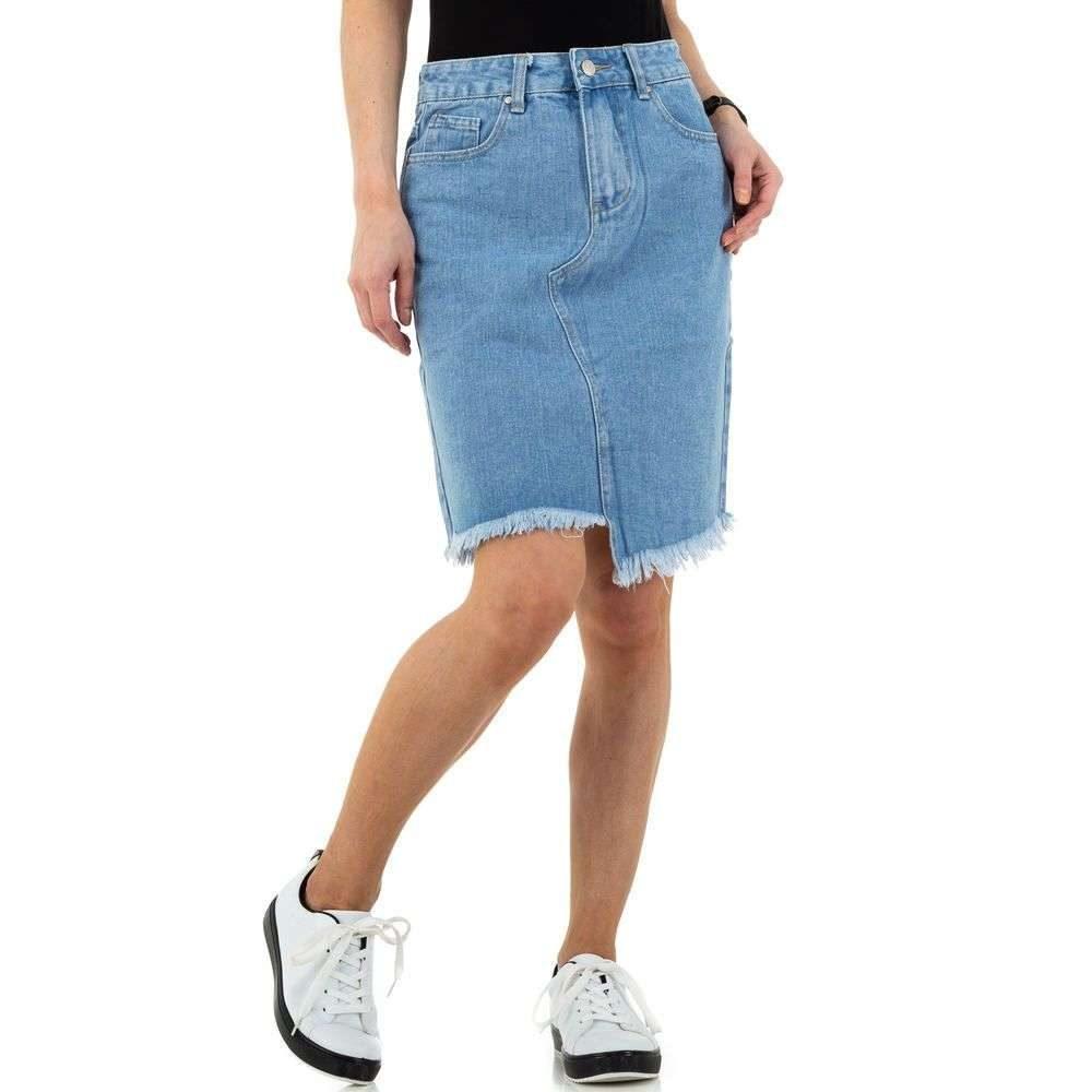 Dámská džínová sukně - XL/42 EU shd-su1051
