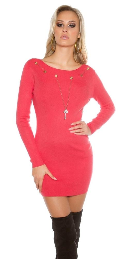 Dámske šaty z úpletu Koucla in-sat1468ko