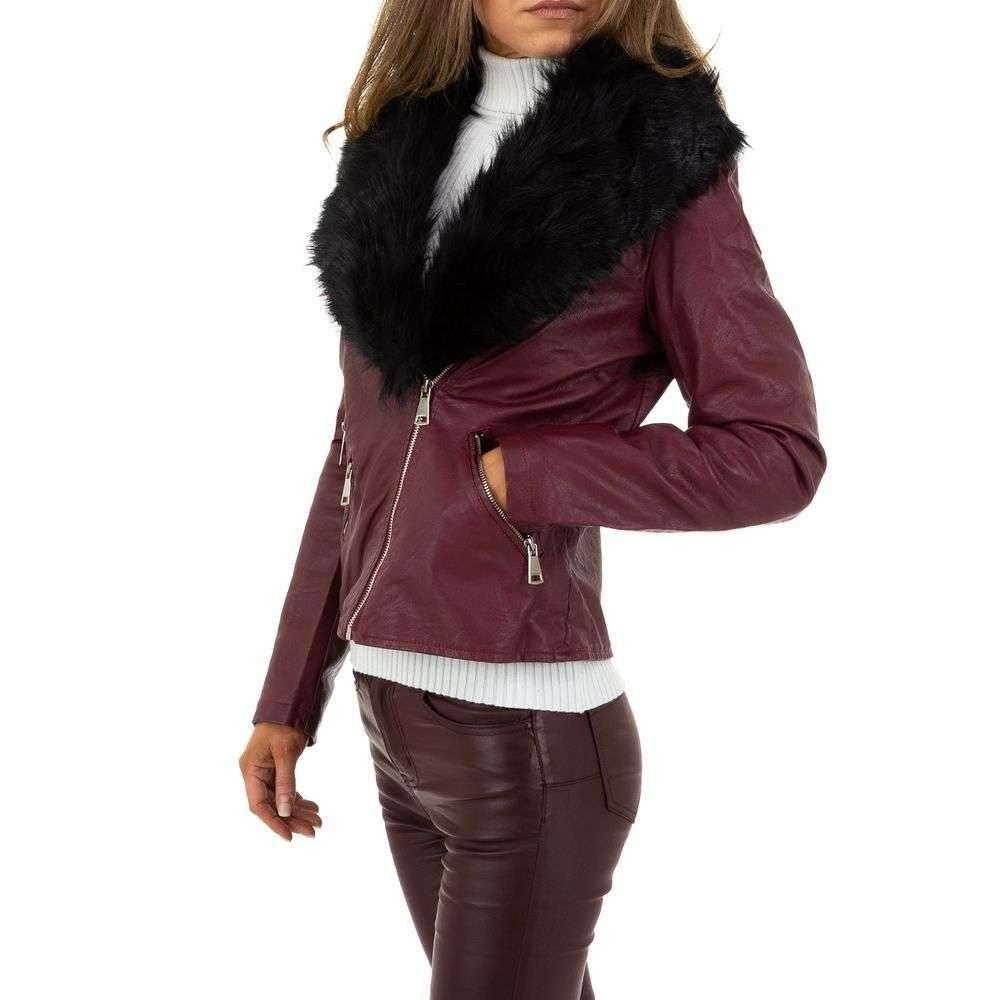 Dámska bunda z koženky - XL/42 EU shd-bu1201vi